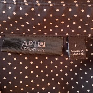 Apt. 9 Tops - Apt.9 Button Down Top Large